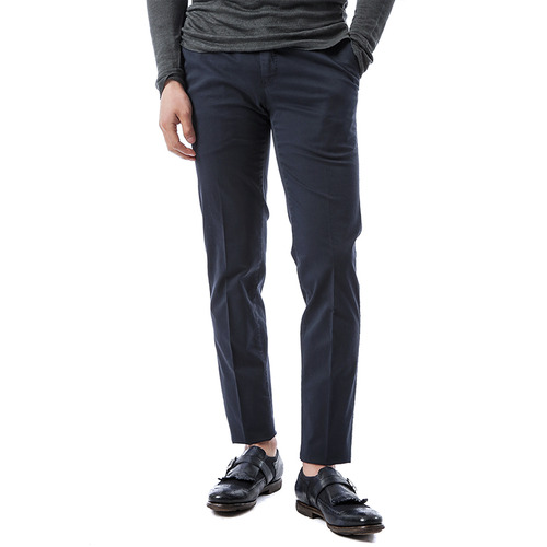 Super Slim Stretch Pants (Navy)