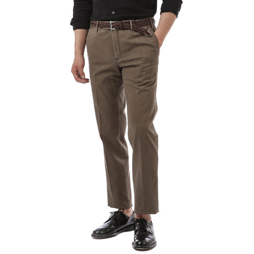 MADRAS Super Slim Stretch Pants (Dark Brown)