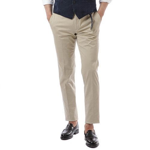 BOMBAY Evo Fit Stretch Pants (Beige)