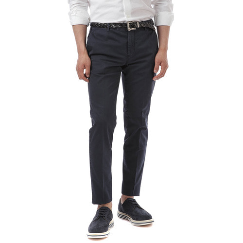 MADRAS Skinny Fit Stretch Pants (Navy)