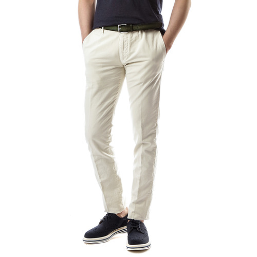 RED Skin Fit Slacks (Ivory)