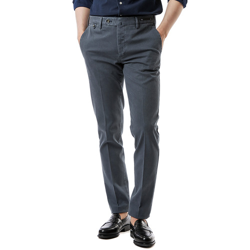 SHAKA Skinny Stretch Pants (Grayish Blue)