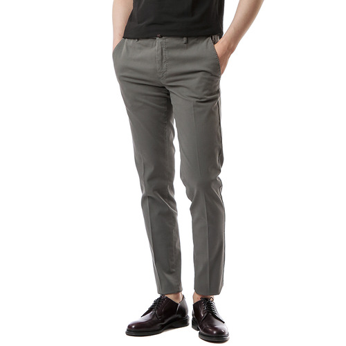 Skinny Stretch Pants (Dark Gray)