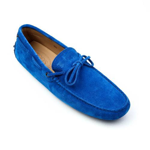 New Gommino Driving Shoes in Suede (Blue)