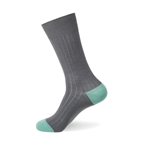 Merino Wool Block [ Gray Emerald Green ]