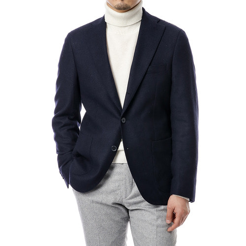 Agnes Navy Wool Jacket