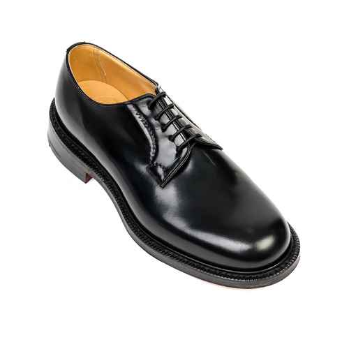 Shannon Black Derby Shoes