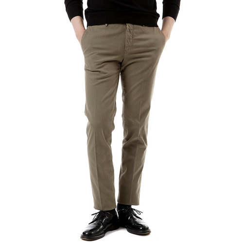 Super Slim Cotton Pants (Light Khaki)