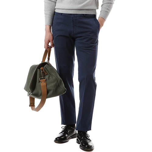 Deep Blue Pliant Chino Pants