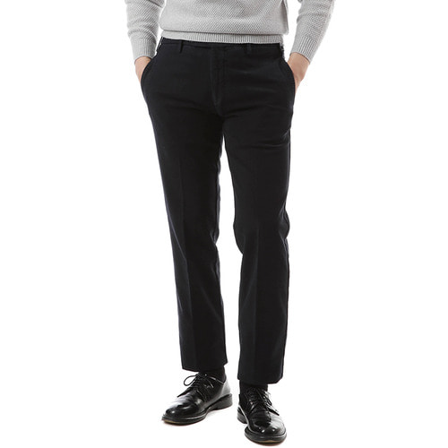 Dark Navy Pliant Chino Pants