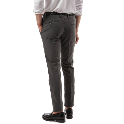 RED Skin Fit Slacks (CharcoalGray)