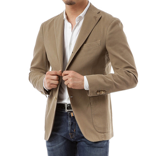 Single Line Beige Jacket
