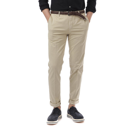 MADRAS Skinny Fit Stretch Pants (Ivory)