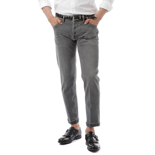 Reggae Tapered Fit Denim  ( Vintage Gray )