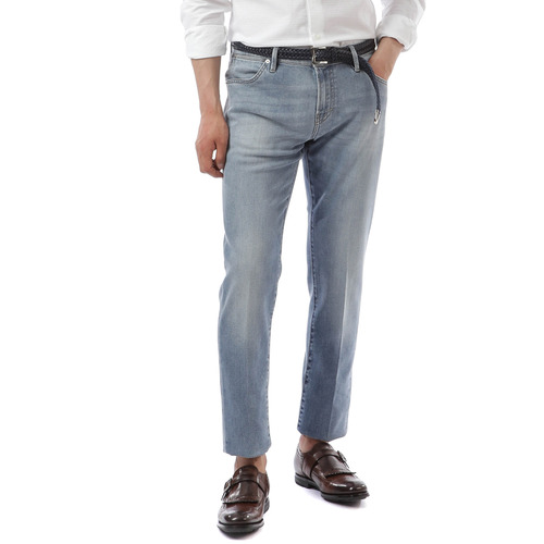 Soul Slim Fit Denim  ( Light Blue )