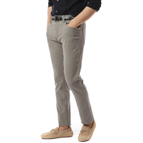 NOS. F/W Leonardo Color Pants (Graishkhaki)