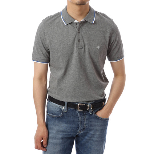 Linea Single Gray Pique Shirts