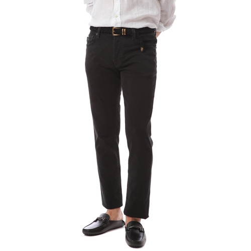 NOS. F/W Leonardo Color Pants (Black)