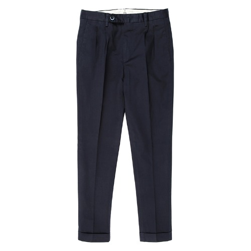 LUCA. Basic Classic Cotton Pants (Navy)