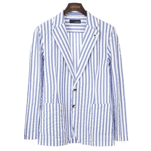 Seersucker Wide Stripe Jacket