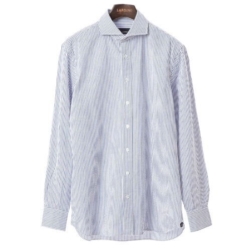 Compact Blue Stripe Cotton Shirts