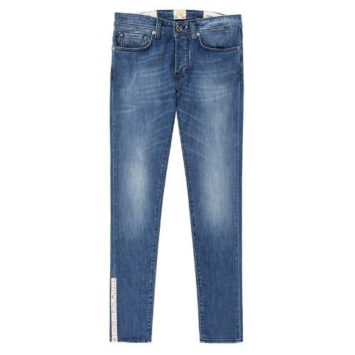 VINTAGE. 12MONTH Medium Blue Jeans(19-80)
