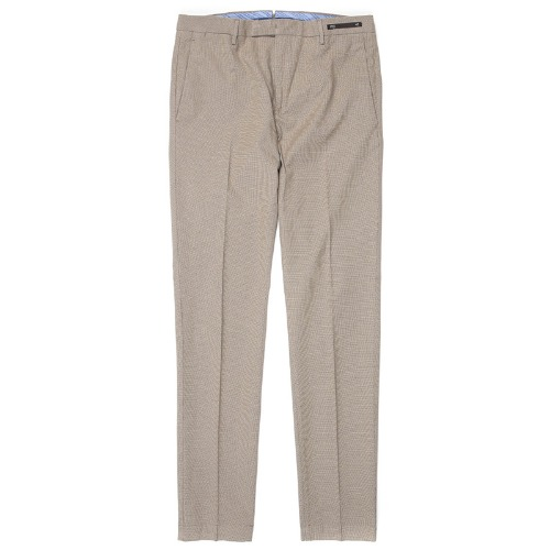 Skinny Fit. Maestro Pattern Stretch Pants(Sand)