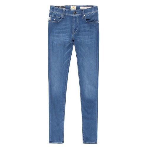 24.7 .2YEARS Super Stretch Light Blue Jeans(Leonardo Slim)