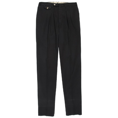 Carrot Fit. The Draper Pants(Black)