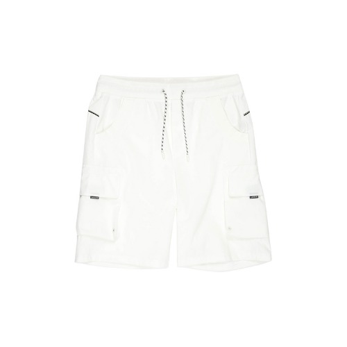 Circle Logo Half Sports Pants(White)