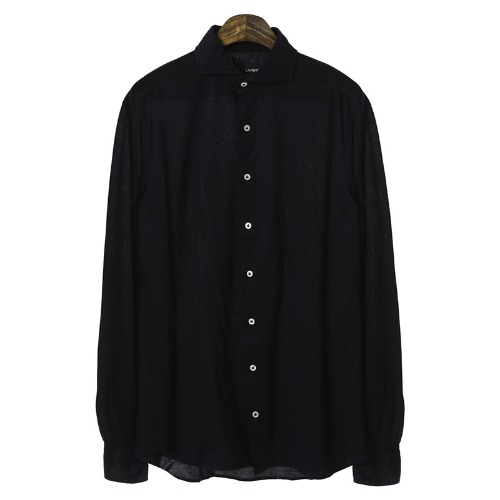 Signature Simple Cotton DarkNavy Shirts