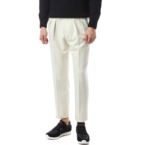 Collection. Forward Gurkha Ivory Wool Pants