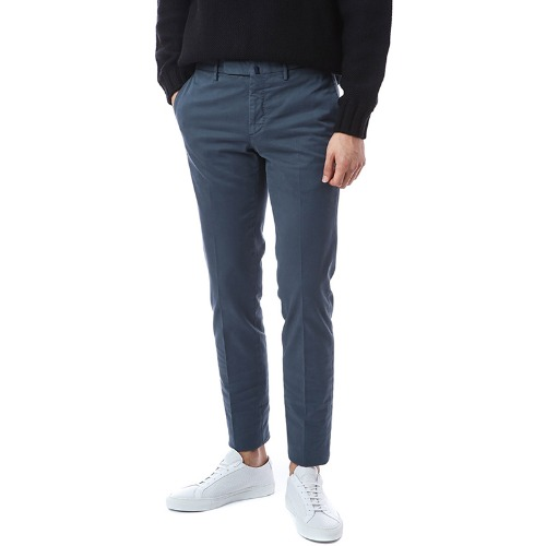 Pattern 82. Tapered Comfort Chino Pants (Deep Blue)