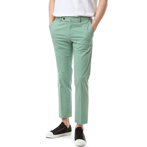 Connection. Superslim fit. Washed Chino Pants (Mint)