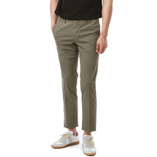Connection. Superslim fit. Washed Chino Pants (Brown)