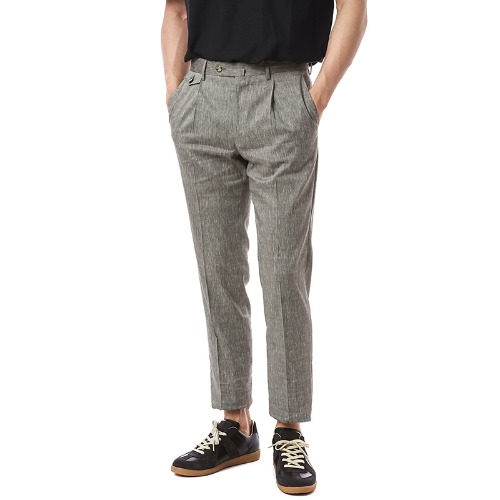 Gentleman. Deluxe Comfort Wool Pants (Graish Brown)