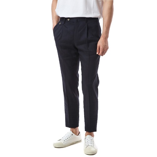 Gentleman. Deluxe Comfort Wool Pants (Navy)