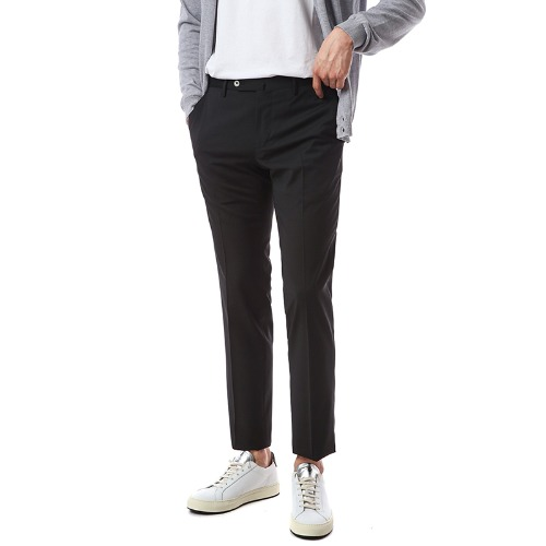 Travel. Techno Washable Wool Slacks (Black)