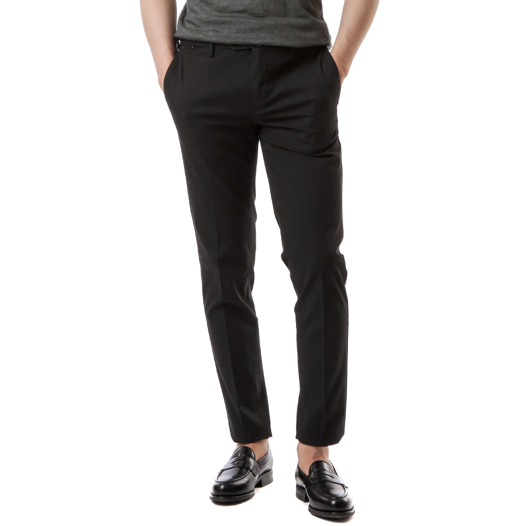 Skinny Stretch Pants (Black)