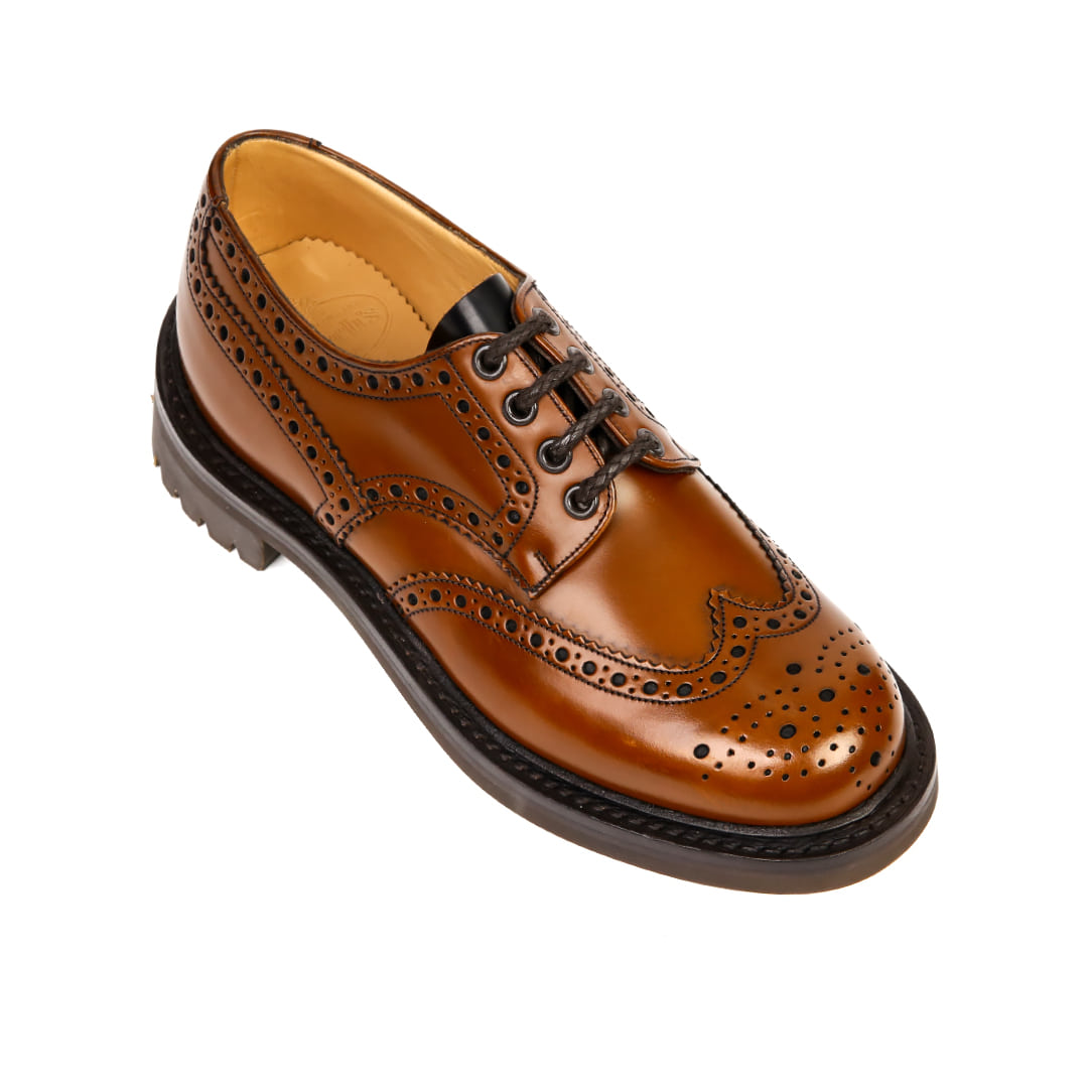 Mcpherson Tan Wing Tip Shoes